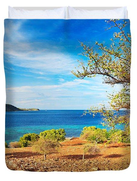 Panorama Island Duvet Cover by MotHaiBaPhoto Prints
