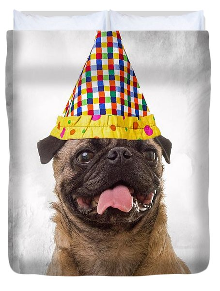 Party Animal Duvet Cover by Edward Fielding