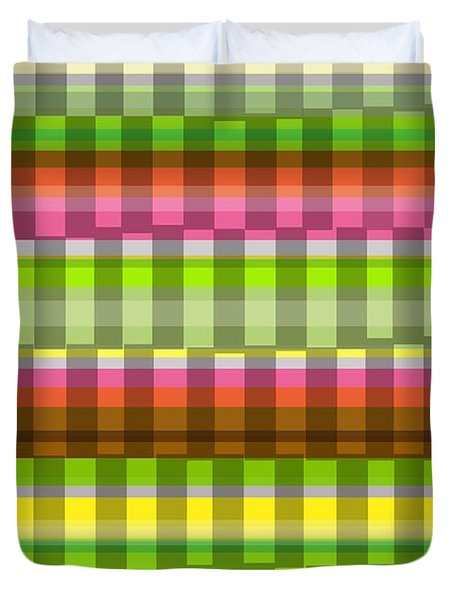Party Stripe Duvet Cover by Louisa Knight