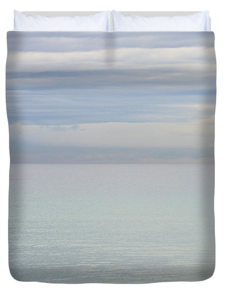 Pastel Manly Morning Duvet Cover by Avalon Fine Art Photography