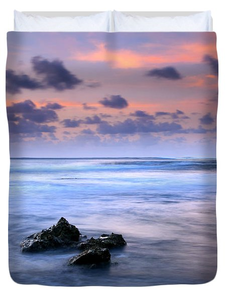 Pastel Tides Duvet Cover by Mike  Dawson