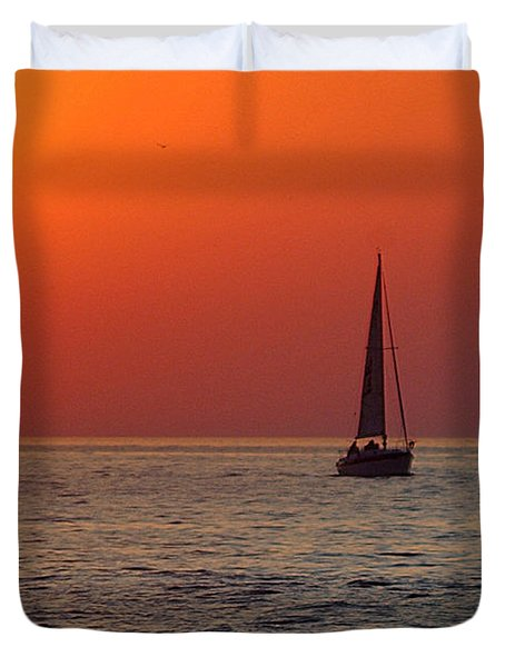 Peace And Tranquility Duvet Cover by Frozen in Time Fine Art Photography