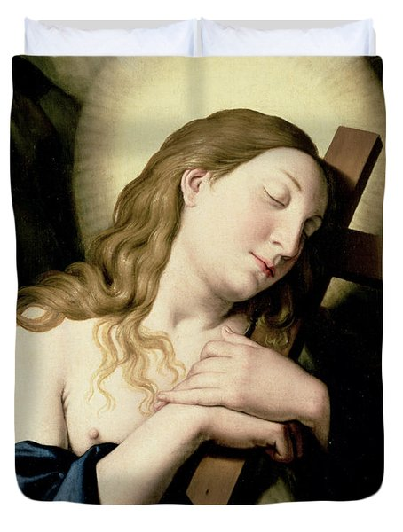 Penitent Magdalene Duvet Cover by Il Sassoferrato