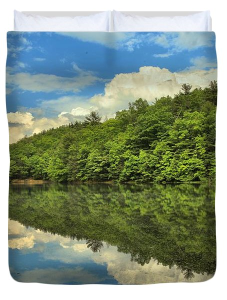 Perfect Reflections Duvet Cover by Adam Jewell