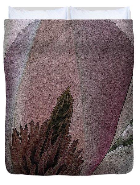 Petal Prose Duvet Cover by Tim Allen