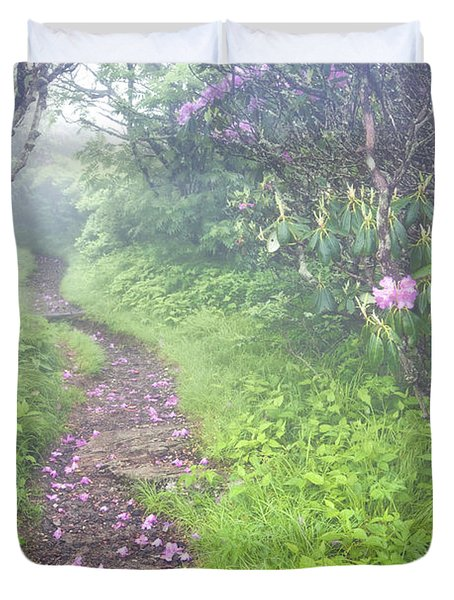 Petaled Path Duvet Cover by Rob Travis