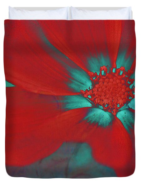 Petaline - T23b2 Duvet Cover by Variance Collections