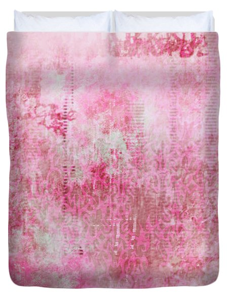 Pink Lady Duvet Cover by Christopher Gaston