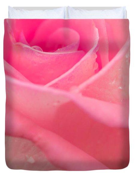 Pink Rose Duvet Cover by Atiketta Sangasaeng