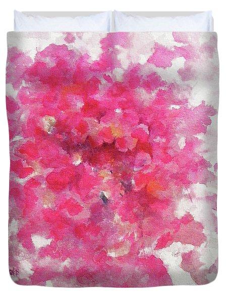 Pink Rose Duvet Cover by Rachel Christine Nowicki