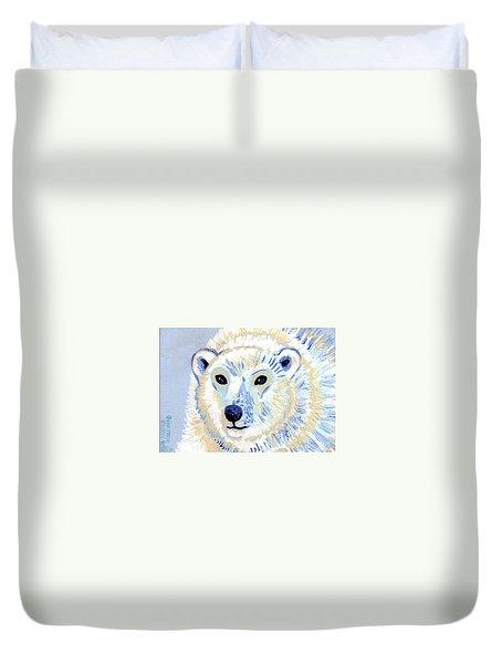 Polar Bear Duvet Cover by Genevieve Esson