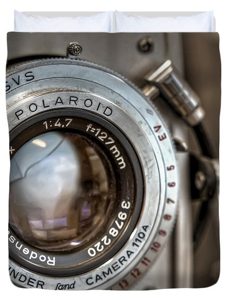Polaroid Pathfinder Duvet Cover by Scott Norris