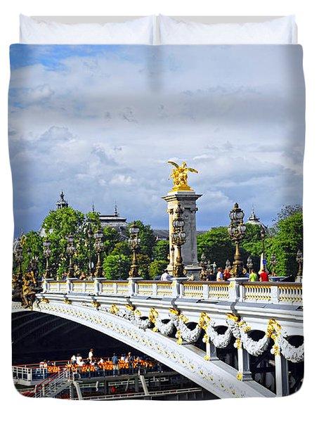 Pont Alexander IIi Duvet Cover by Elena Elisseeva