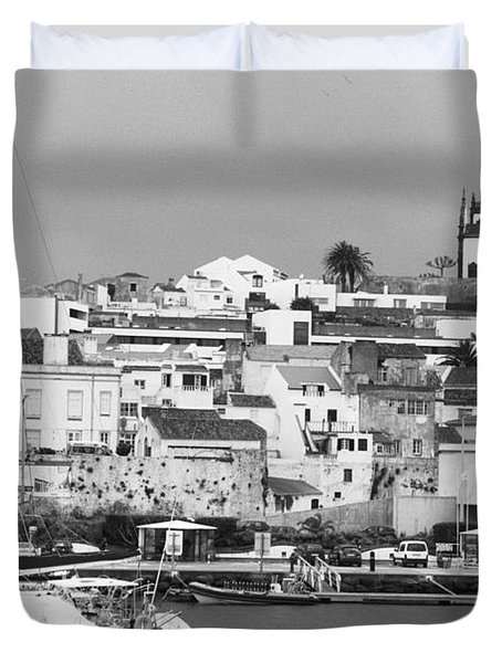 Portuguese City Duvet Cover by Gaspar Avila