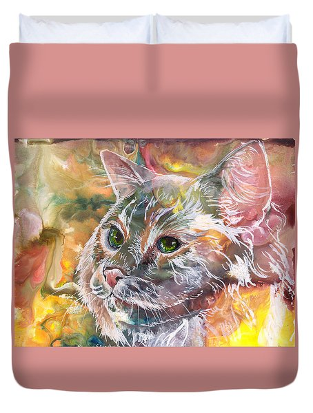 Posing Duvet Cover by Sherry Shipley
