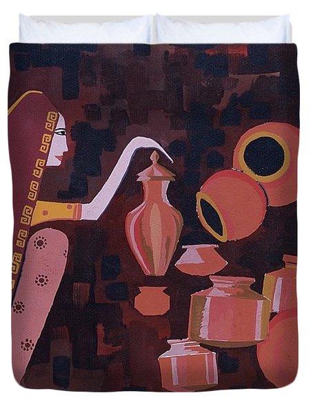 Potter Duvet Cover by Vilas Malankar