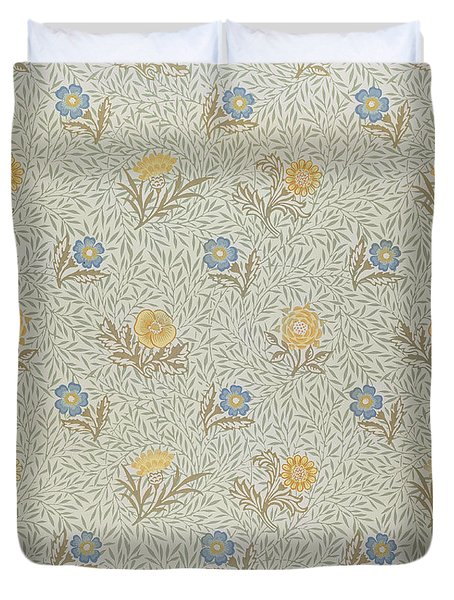 Powdered Duvet Cover by Wiliam Morris