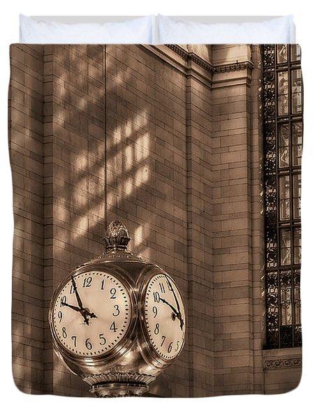 Precious Time Duvet Cover by Susan Candelario