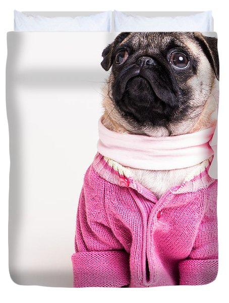 Pretty In Pink Duvet Cover by Edward Fielding