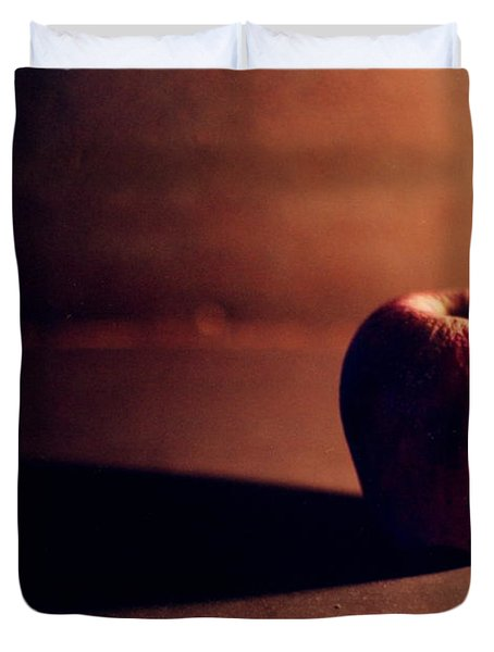Pruned Apple Still Life Duvet Cover by Michelle Calkins