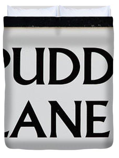 Pudding Lane Duvet Cover by Dawn OConnor
