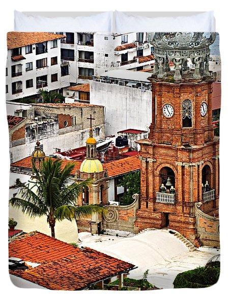 Puerto Vallarta Duvet Cover by Elena Elisseeva