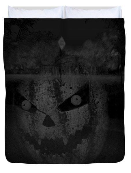 Punkinhead Duvet Cover by David Pantuso