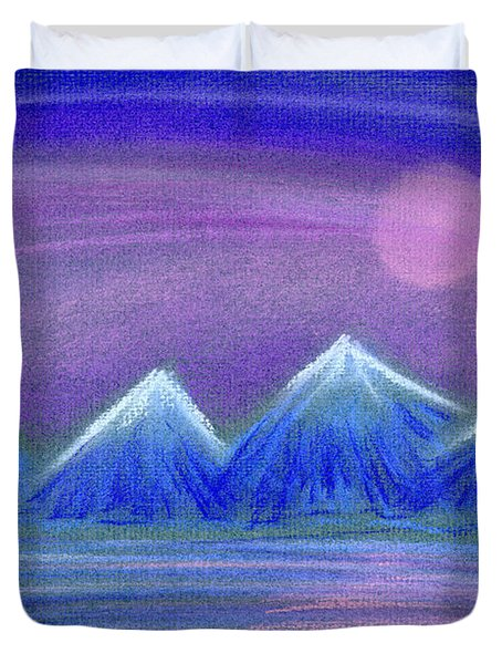 Purple Night 3 Duvet Cover by Hakon Soreide