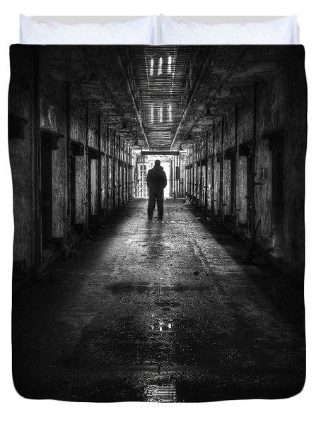 Put My Name On The Walk Of Shame Duvet Cover by Evelina Kremsdorf