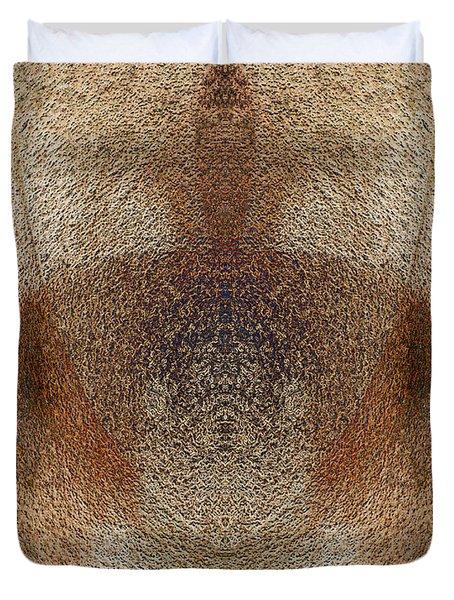 Qi Duvet Cover by Christopher Gaston