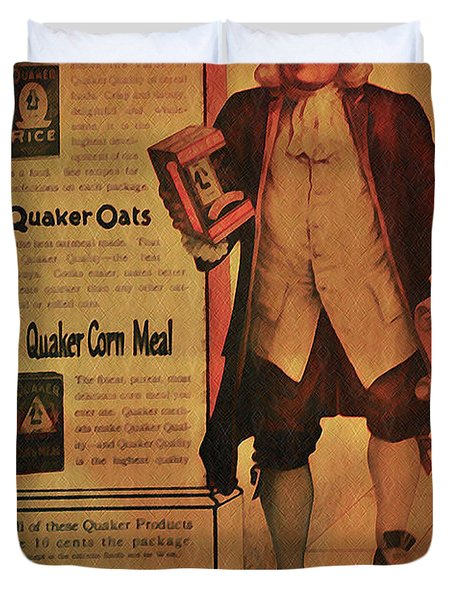 Quaker Quality Duvet Cover by Bill Cannon