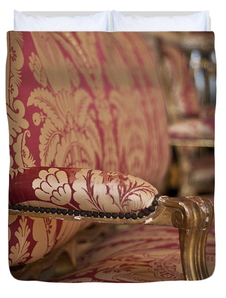 Queen's Apartments - Let Them Sit Duvet Cover by Nomad Art And  Design