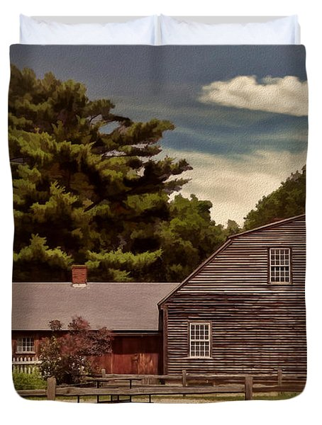 Quest In Time Duvet Cover by Lourry Legarde