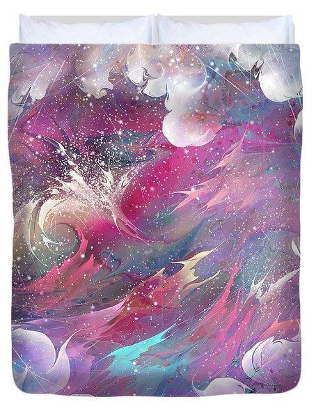 Raging Dreams Duvet Cover by Rachel Christine Nowicki