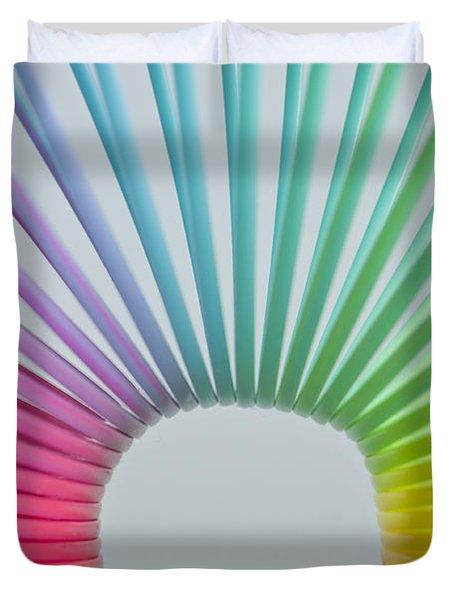 Rainbow 2 Duvet Cover by Steve Purnell
