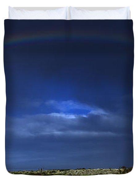 rainbow Duvet Cover by Stylianos Kleanthous