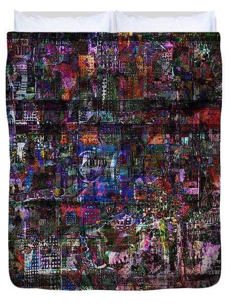 Random 515 Duvet Cover by Andy  Mercer