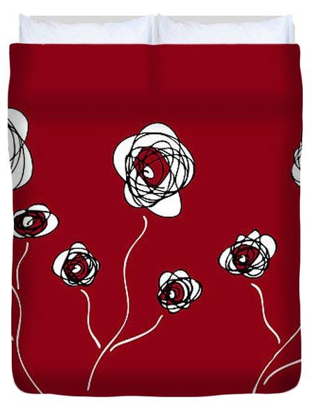 Ranunculus Duvet Cover by Frank Tschakert
