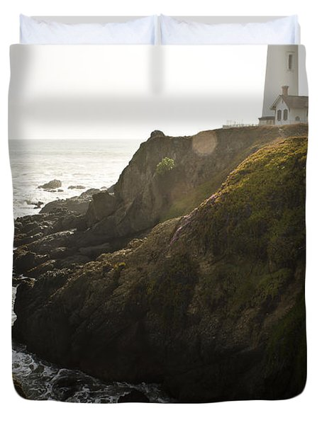 Ray Of Light Duvet Cover by Heather Applegate