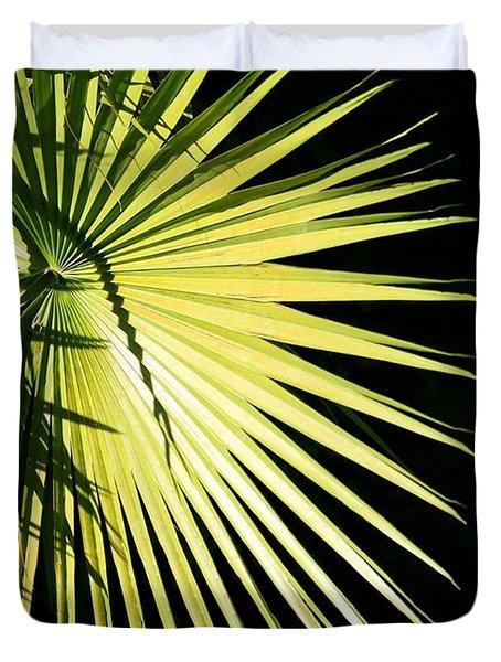 Rays Of Light Duvet Cover by Sabrina L Ryan