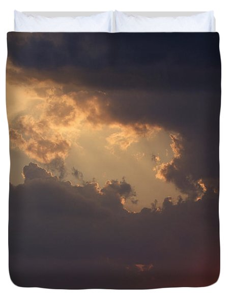 Reach For The Sky 5 Duvet Cover by Mike McGlothlen
