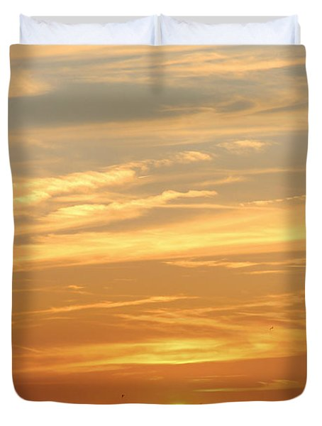 Reach For The Sky 6 Duvet Cover by Mike McGlothlen
