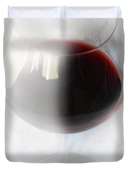 Red Wine Duvet Cover by Kume Bryant
