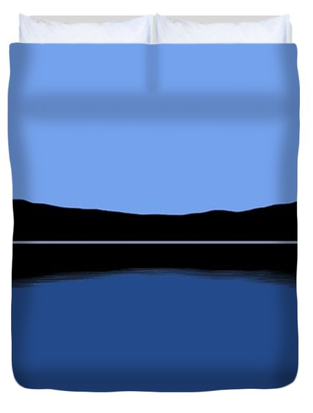 Reflection Duvet Cover by George Pedro