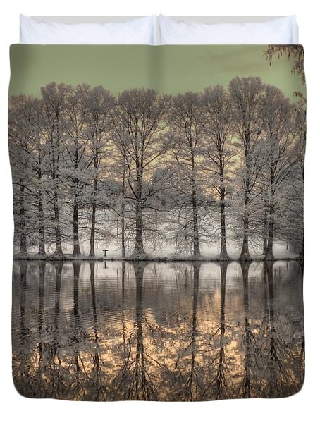 Reflections Duvet Cover by Jane Linders