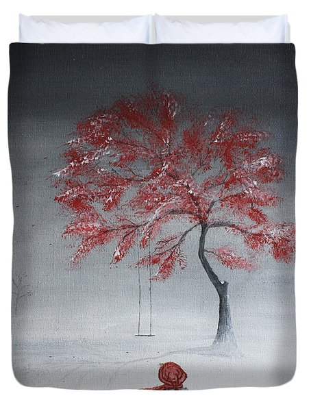 Remembering Summer Duvet Cover by Gray  Artus