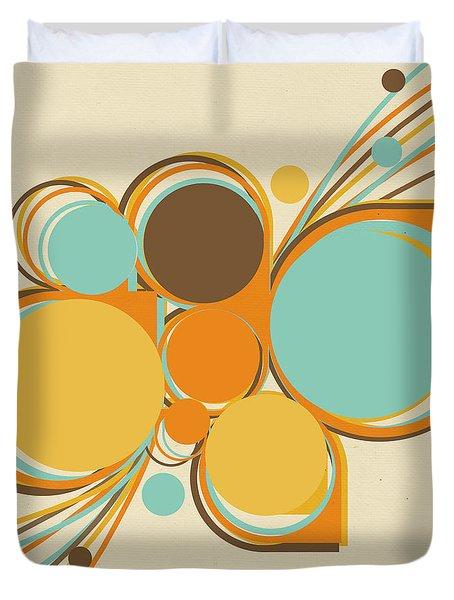 retro pattern Duvet Cover by Setsiri Silapasuwanchai