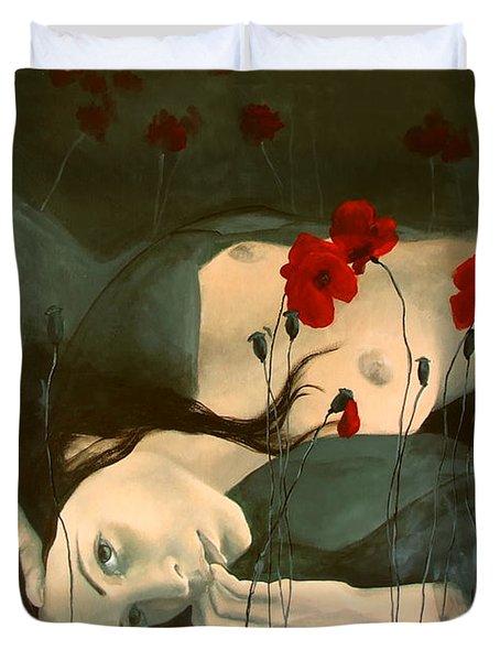 Reverie... Duvet Cover by Dorina  Costras