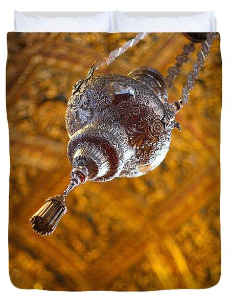 Richly Decorated Ceiling Duvet Cover by Gaspar Avila
