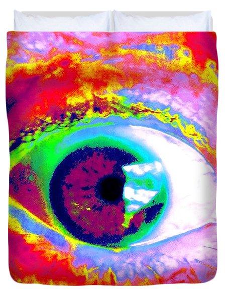 Rico's Eye Duvet Cover by Renate Nadi Wesley